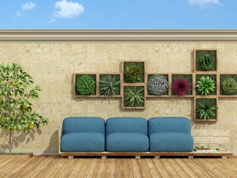 Tuto : faire du mobilier de jardin avec des palettes