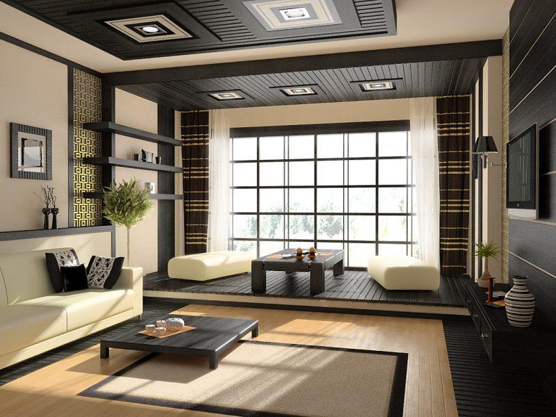 La décoration intérieure au Japon